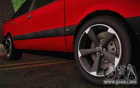 Audi 80 B3 v1.0 para la visión correcta GTA San Andreas