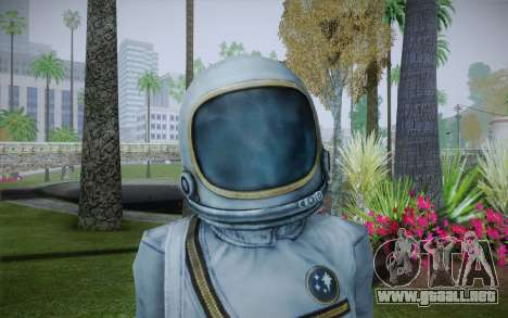 Spacesuit From Fallout 3 para GTA San Andreas tercera pantalla