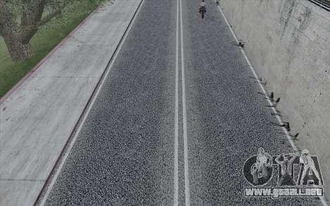 HD Roads 2014 para GTA San Andreas sucesivamente de pantalla