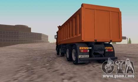 Scania P420 para GTA San Andreas left