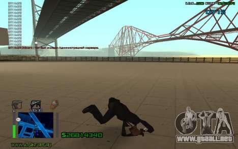 Salto mortal para GTA San Andreas segunda pantalla