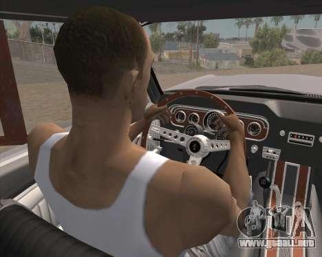 La animación pulsando la señal para GTA San Andreas segunda pantalla