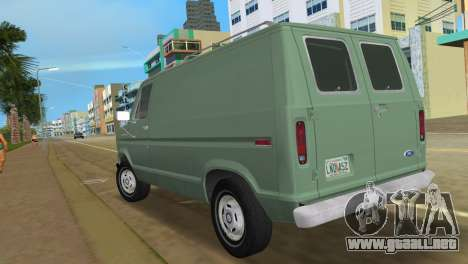 Ford E-150 1983 Short Version Commercial Van para GTA Vice City left