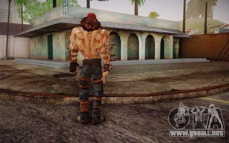 D. el torgue из Borderlands 2 para GTA San Andreas tercera pantalla