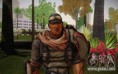 Roland из Borderlands 2 para GTA San Andreas tercera pantalla
