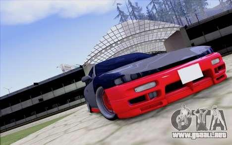 Nissan Silvia S14 para GTA San Andreas vista posterior izquierda