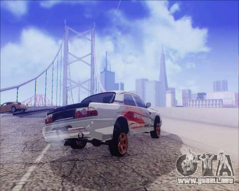 GAZ 31105 Sintonizable para vista inferior GTA San Andreas