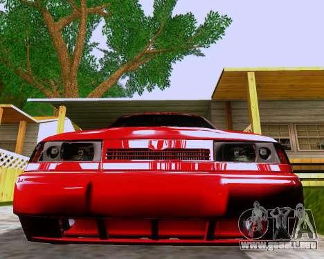 VAZ 2112 Sintonizable para GTA San Andreas interior