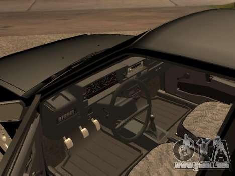 VAZ 2109 Gangster nueve V 1.0 para GTA San Andreas left