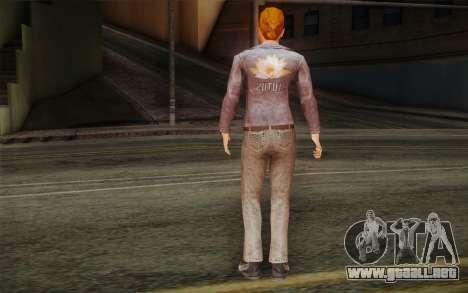 Woman Autoracer from FlatOut v2 para GTA San Andreas segunda pantalla
