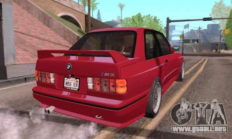 BMW E30 M3 1991 para GTA San Andreas left