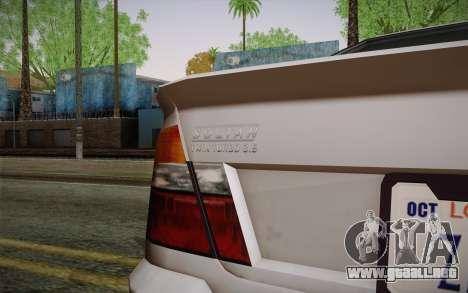 El sultán из GTA 5 para la visión correcta GTA San Andreas