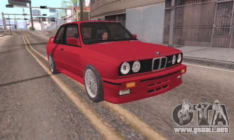 BMW E30 M3 1991 para GTA San Andreas