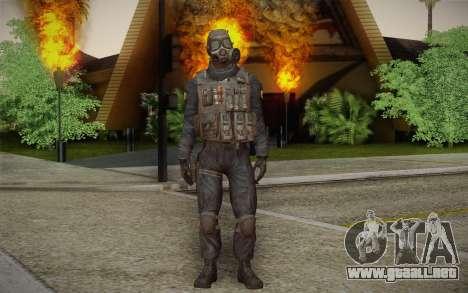 S.A.S Gas Mask para GTA San Andreas