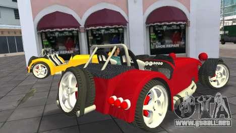 Caterham Super Seven para GTA Vice City left