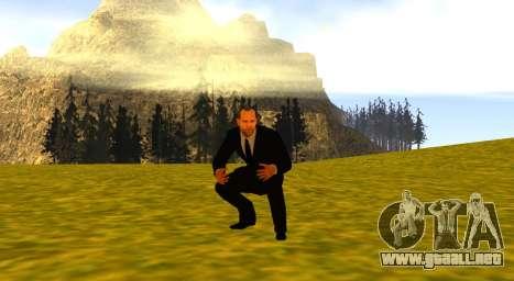 Jason Statham para GTA San Andreas sucesivamente de pantalla