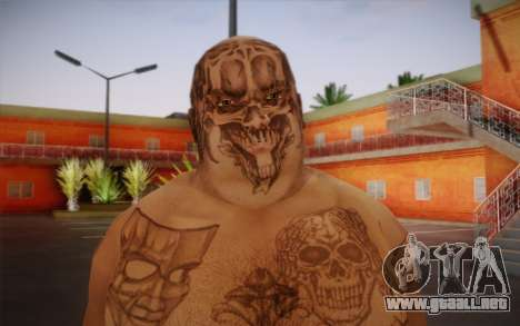Him para GTA San Andreas tercera pantalla