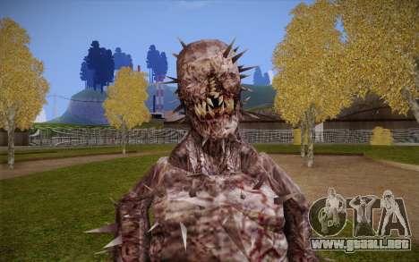 Iron Maiden from Resident Evil 4 para GTA San Andreas tercera pantalla