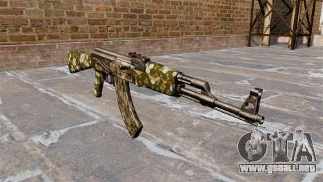 El AK-47 Hexagonal para GTA 4