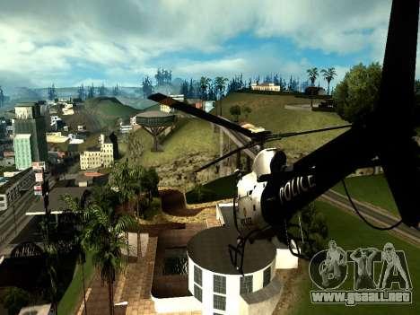 ENBSeries por Makar_SmW86 Medio de la PC para GTA San Andreas segunda pantalla