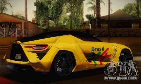 Bertone Mantide World Brasil 2010 para GTA San Andreas left