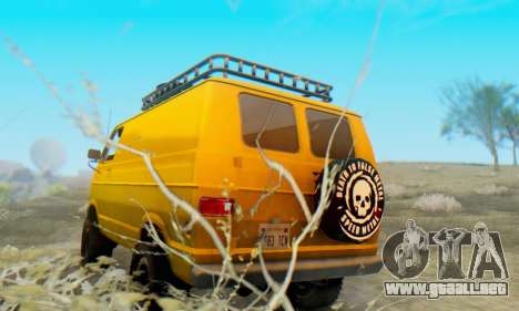 Dodge Tradesman Van 1976 para la visión correcta GTA San Andreas
