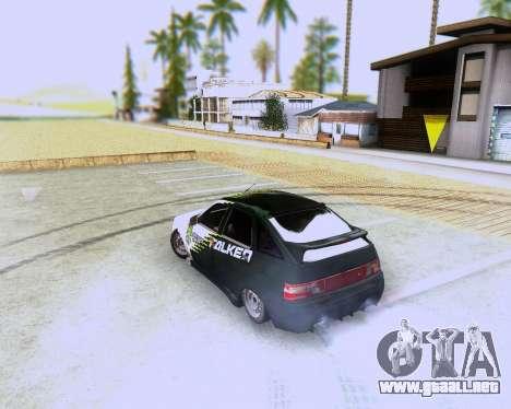VAZ 2112 Sintonizable para GTA San Andreas left