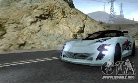 Bertone Mantide 2010 Rock Generation para la vista superior GTA San Andreas