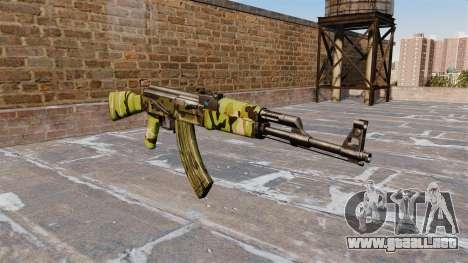El AK-47 Woodland para GTA 4