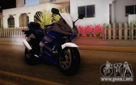 Yamaha YZF R15 para GTA San Andreas