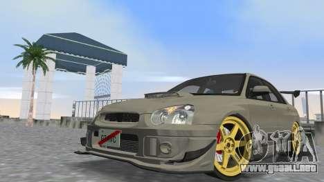 Subaru Impreza WRX STI 2005 para GTA Vice City