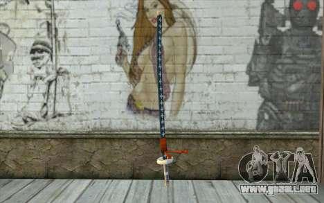 One Piece Sword Trafalgar Law para GTA San Andreas
