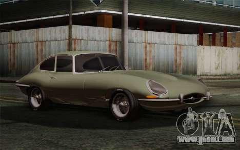 Jaguar E-Type 4.2 para GTA San Andreas