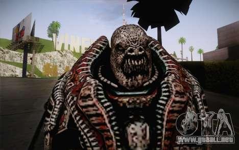 Theron Guard Cloth From Gears of War 3 v2 para GTA San Andreas tercera pantalla