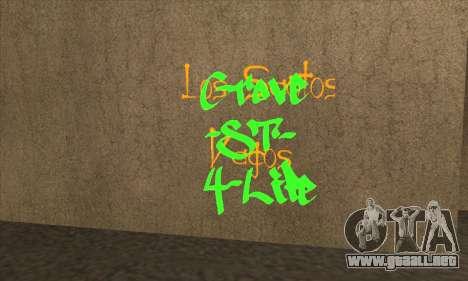 Nuevo graffiti para GTA San Andreas tercera pantalla