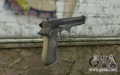 Police Beretta 92 para GTA San Andreas segunda pantalla