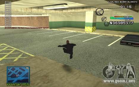 С-HUD por SteelMan para GTA San Andreas