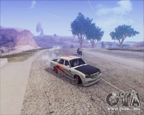 GAZ 31105 Sintonizable para la vista superior GTA San Andreas