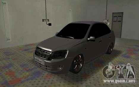 VAZ 2190 de la Subvención para GTA San Andreas left