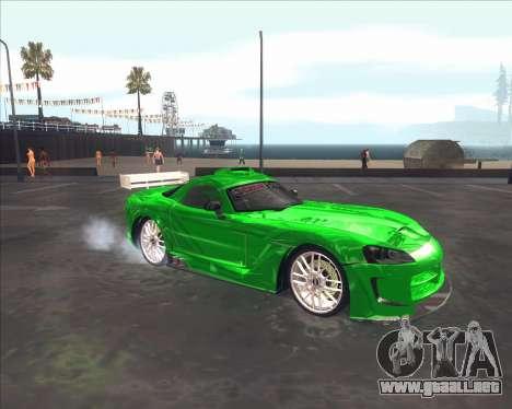 Dodge Viper SRT de NFS MW para GTA San Andreas