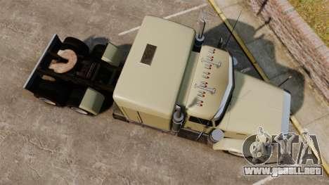 GTA V JoBuilt Phantom para GTA 4 visión correcta