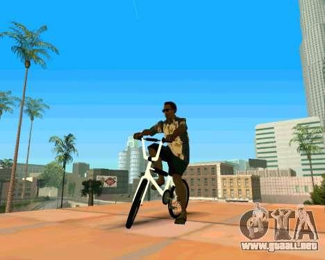 BMX из GTA Vice City Stories para la visión correcta GTA San Andreas