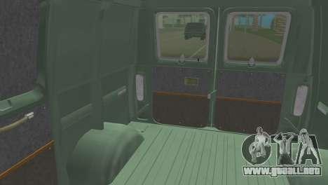 Ford E-150 1983 Short Version Commercial Van para GTA Vice City visión correcta