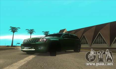 ATI ENBseries MOD para GTA San Andreas tercera pantalla