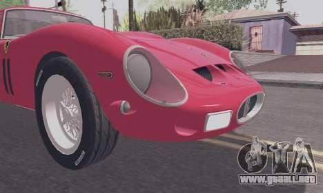Ferrari 250 GTO 1962 para visión interna GTA San Andreas