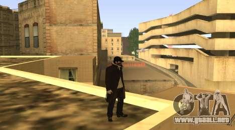 New Aiden Pearce para GTA San Andreas sucesivamente de pantalla