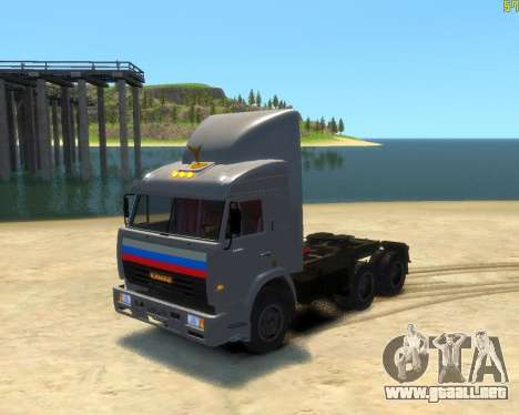 KamAZ-54115 para GTA 4