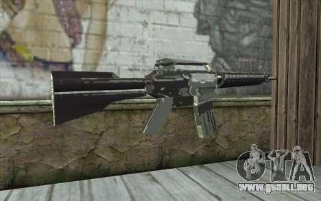 New M4 para GTA San Andreas segunda pantalla