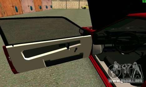 VAZ 2108 Turbo para vista lateral GTA San Andreas