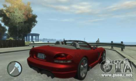 Dodge Viper SRT-10 2003 v2.0 para GTA 4 left
